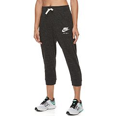 2b403082b331 Womens Black Nike Active Crops   Capris - Bottoms