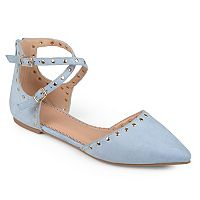 Journee Collection Liset Women's D'orsay Flats