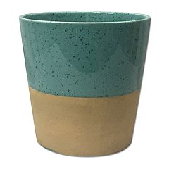 SONOMA Goods for Life™ Small Speckled Outdoor Stoneware Planter