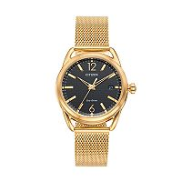Drive From Citizen Eco-Drive Women's LTR Stainless Steel Mesh Watch - FE6082-59E