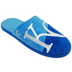 Men's Forever Collectibles Kansas City Royals Colorblock Slippers
