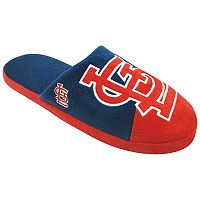 Men's Forever Collectibles St. Louis Cardinals Colorblock Slippers