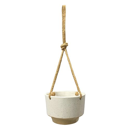 SONOMA Goods for Life™ Stoneware Outdoor Hanging Planter