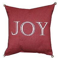 Park B. Smith Holiday ''Joy'' Throw Pillow