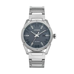 Drive From Citizen Eco-Drive Men's CTO Stainless Steel Watch - BM6991-52H