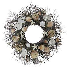 SONOMA Goods for Life™ Artificial Shell & Starfish Coastal Wreath