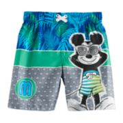 Disney's Mickey Mouse Toddler Boy Swim Trunks