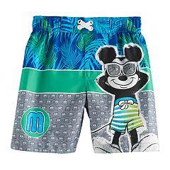 Disney's Mickey Mouse Toddler Boy Swim Trunks