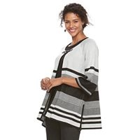 Women's Dana Buchman Striped Cardigan