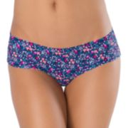 Juniors' SO® No-Show Hipster Panty