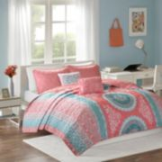 Intelligent Design Eleni Coverlet Set
