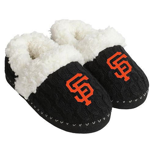 Women's Forever Collectibles San Francisco Giants Cable Knit Slippers