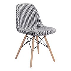 Zuo Modern Sappy Houndstooth Upholstered Dining Chair