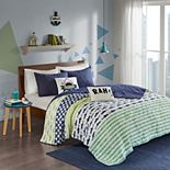 Urban Habitat Kids Aaron Shark Coverlet Set