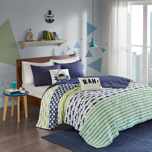 Urban Habitat Kids Aaron Shark Coverlet Set by Urban Habitat Kids