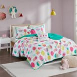 Urban Habitat Kids Water Melly Fruit Coverlet Set