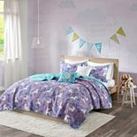 Urban Habitat Kids Ella Unicorn Coverlet Set