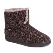 Women's MUK LUKS Sean Knit Bootie Slippers
