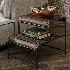 INK+IVY Renu 2-Tier End Table