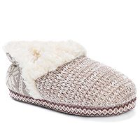 Women's MUK LUKS Magdalena Knit Slippers