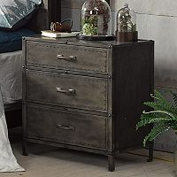 INK+IVY Benicia 3-Drawer Night Stand