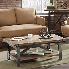 INK+IVY Lancaster Industrial Coffee Table