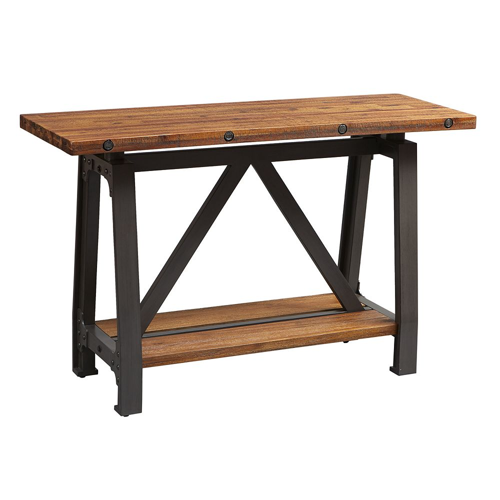 Ink ivy lancaster industrial console table