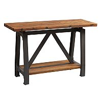 INK+IVY Lancaster Industrial Console Table