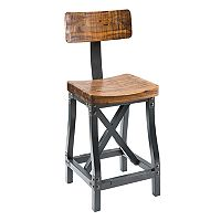 INK+IVY Lancaster Industrial Bar Stool