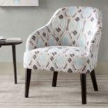 Madison Park Elias Geometric Accent Chair