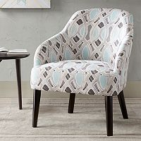 Madison Park Elias Geometric Accent Chair