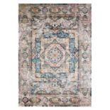 United Weavers Rhapsody Acton Framed Floral Rug