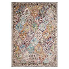 United Weavers Rhapsody Nash Court Framed Floral Rug