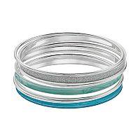 Turquoise Bangle Bracelet Set