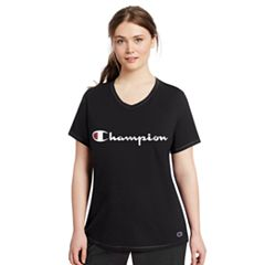 Plus Size Champion Logo Tee