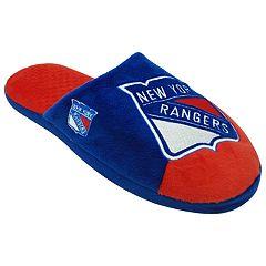 Men's New York Rangers Color block Slide Slippers