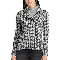 Women's Chaps Asymmetrical Moto Jacket