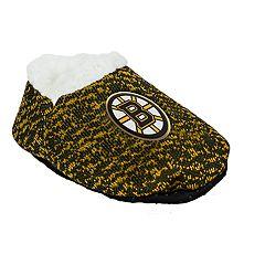 Baby Boston Bruins Slipper Booties