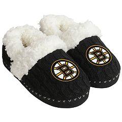 Women's Boston Bruins Moccasin Slippers