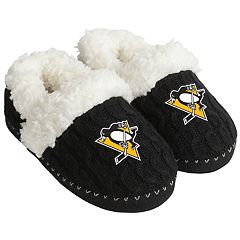 Women's Pittsburgh Penguins Moccasin Slippers