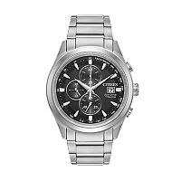 Citizen Eco-Drive Men's Chandler TI + IP Super Titanium Watch - CA0650-58E