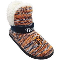 Women's Forever Collectibles Chicago Bears Peak Boot Slippers