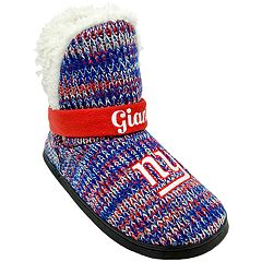 Women's Forever Collectibles New York Giants Peak Boot Slippers
