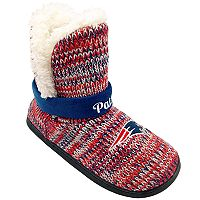 Women's Forever Collectibles New England Patriots Peak Boot Slippers