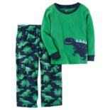 Baby Boy Carter's Applique Top & Microfleece Bottoms Pajama Set