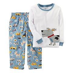 Toddler Boy Carter's Applique Top & Microfleece Bottoms Pajama Set