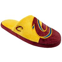 Men's Forever Collectibles Cleveland Cavaliers Colorblock Slippers