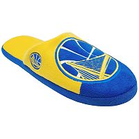 Men's Forever Collectibles Golden State Warriors Colorblock Slippers