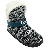 Women's Forever Collectibles Philadelphia Eagles Peak Boot Slippers