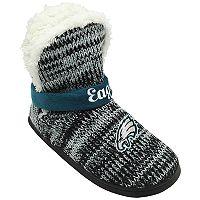 Women's Forever Collectibles Philadelphia Eagles Peak Boot Slippers